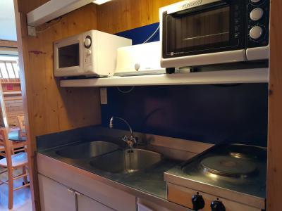Location au ski Studio 2 personnes (541) - Residence Cascade - Les Arcs - Cuisine