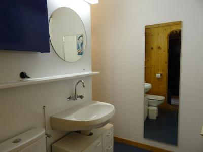 Location au ski Studio 2 personnes (541) - Residence Cascade - Les Arcs - Lavabo