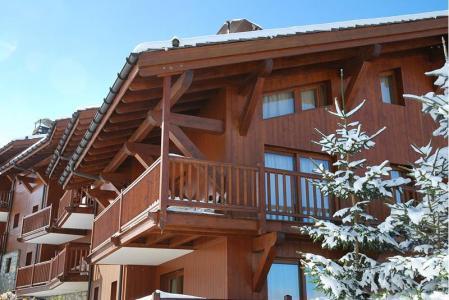 Rent in ski resort 4 room apartment 6 people (F1Bis) - Résidence Chalet de la Bergerie - Les Arcs - Winter outside