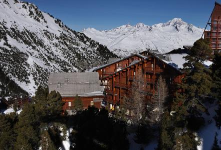 Location au ski Résidence Chalet des Neiges Arolles - Les Arcs - Extérieur hiver