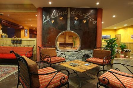 Location au ski Residence Chalet Des Neiges Cime Des Arcs - Les Arcs - Réception