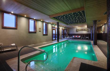 Location au ski Residence Chalet Des Neiges Cime Des Arcs - Les Arcs - Piscine