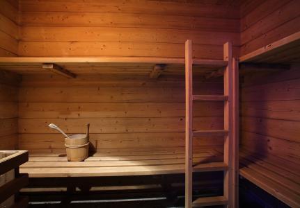 Location au ski Residence Chalet Des Neiges Cime Des Arcs - Les Arcs - Sauna