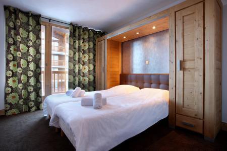 Skiverleih Résidence Chalet des Neiges Cîme des Arcs - Les Arcs - Schlafzimmer