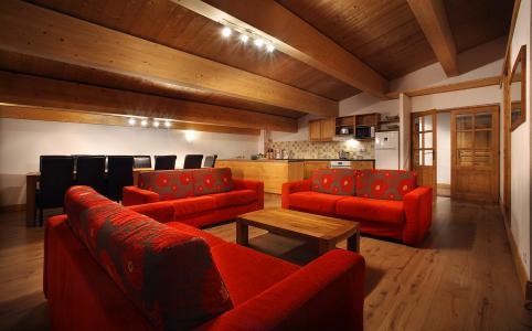 Location au ski Residence Chalet Des Neiges Cime Des Arcs - Les Arcs - Séjour