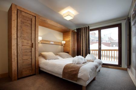 Rent in ski resort Résidence Chalet des Neiges la Source des Arcs - Les Arcs - Bedroom
