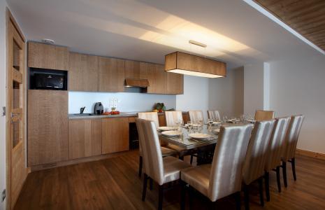 Rent in ski resort Résidence Chalet des Neiges la Source des Arcs - Les Arcs - Kitchen