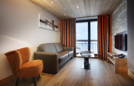 Rent in ski resort Résidence Chalet des Neiges la Source des Arcs - Les Arcs - Living room