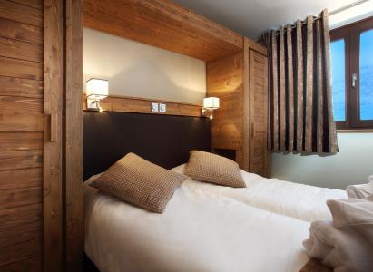 Skiverleih Résidence Chalet des Neiges la Source des Arcs - Les Arcs - Schlafzimmer