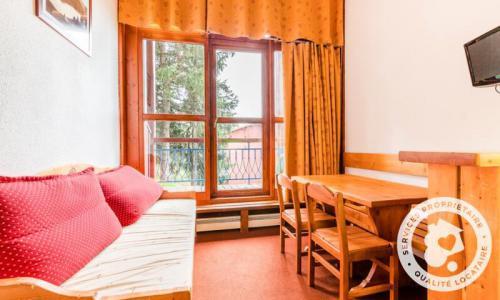 Vacances en montagne Studio 4 personnes (Confort 24m²) - Résidence Charmettoger - Maeva Home - Les Arcs - Extérieur hiver