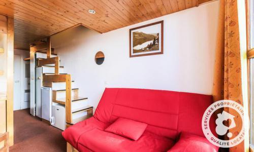 Location au ski Appartement 3 pièces 6 personnes (Confort 30m²) - Résidence Charmettoger - Maeva Home - Les Arcs - Extérieur hiver