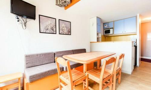 Location au ski Studio 6 personnes (Confort 30m²) - Résidence Charmettoger - Maeva Home - Les Arcs - Extérieur hiver