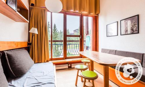 Vacances en montagne Studio 6 personnes (Confort 35m²) - Résidence Charmettoger - Maeva Home - Les Arcs - Extérieur hiver