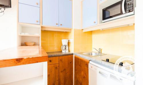 Location au ski Studio 6 personnes (Confort 35m²) - Résidence Charmettoger - Maeva Home - Les Arcs - Extérieur hiver