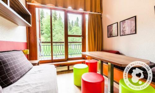 Location au ski Studio 6 personnes (Sélection 30m²) - Résidence Charmettoger - Maeva Home - Les Arcs - Extérieur hiver