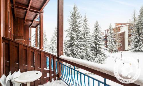 Location au ski Studio 6 personnes (Confort -4) - Résidence Charmettoger - Maeva Home - Les Arcs - Extérieur hiver