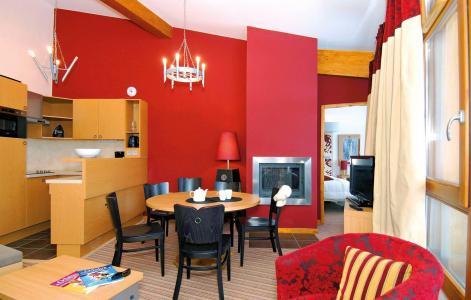 Location au ski Résidence Edenarc - Les Arcs - Coin repas