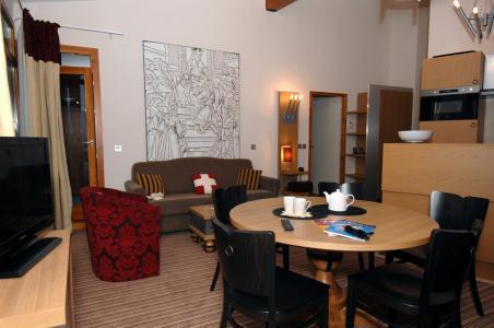 Location au ski Residence Edenarc - Les Arcs - Salle à manger