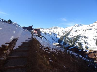 Location au ski Studio coin montagne 3 personnes (315) - Residence Fond Blanc - Les Arcs - Extérieur hiver
