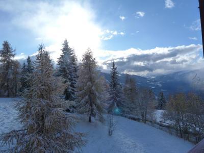Location au ski Studio 4 personnes (407) - Residence Grand Arbois - Les Arcs - Extérieur hiver