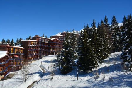 Holiday in mountain resort 2 room duplex apartment 6 people (3415) - Résidence l'Aiguille Grive 3 - Les Arcs - Winter outside