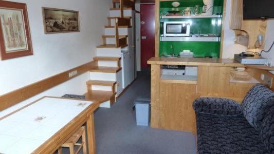 Location au ski Studio 5 personnes (420) - Residence L'aiguille Grive Bat I - Les Arcs