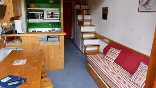Location au ski Studio mezzanine 5 personnes (205) - Residence L'aiguille Grive Bat Ii - Les Arcs