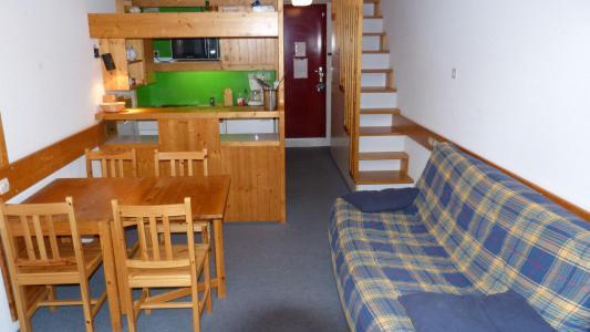 Аренда на лыжном курорте Апартаменты 2 комнат 6 чел. (430) - Résidence l'Aiguille Grive Bât III - Les Arcs
