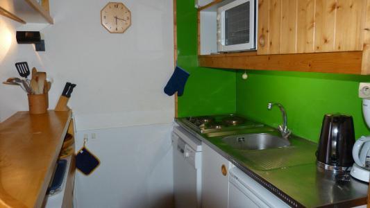 Аренда на лыжном курорте Апартаменты 2 комнат 6 чел. (322) - Résidence l'Aiguille Grive Bât III - Les Arcs