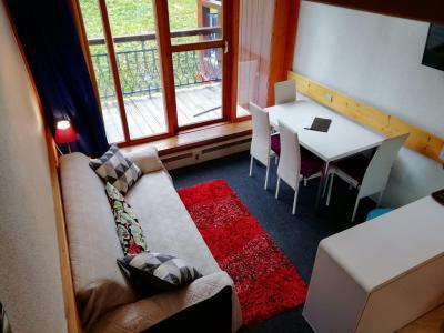 Location au ski Studio duplex 5 personnes (212) - Résidence l'Alliet - Les Arcs