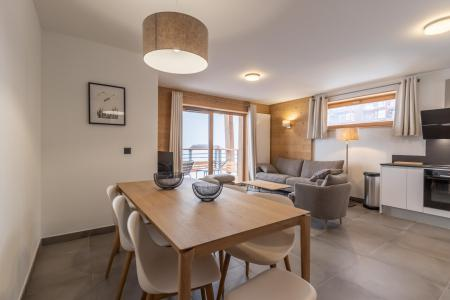 Rent in ski resort 4 room apartment 8 people (B41) - Résidence L'Ecrin - Les Arcs - Table