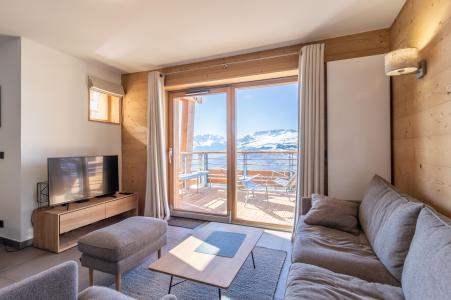 Rent in ski resort 4 room apartment 8 people (B41) - Résidence L'Ecrin - Les Arcs - Table