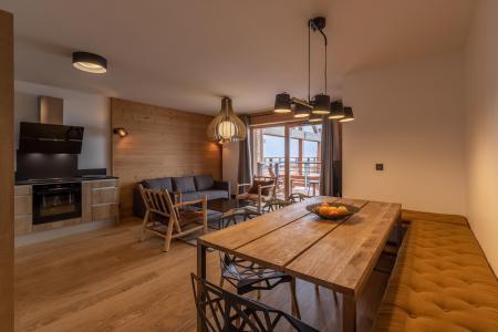 Rent in ski resort 4 room apartment 8 people (B42) - Résidence L'Ecrin - Les Arcs - Table