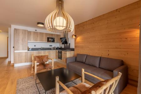 Rent in ski resort 4 room apartment 8 people (B42) - Résidence L'Ecrin - Les Arcs - Table