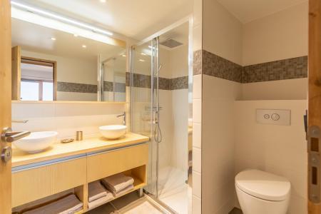Location au ski Appartement 4 pièces 8 personnes (B41) - Résidence L'Ecrin - Les Arcs - Salle d'eau