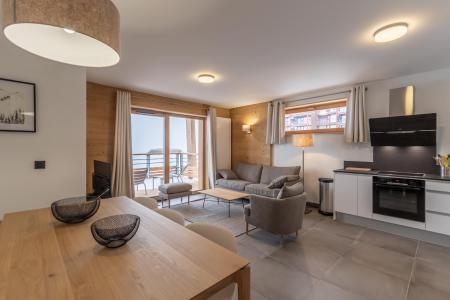 Location au ski Appartement 4 pièces 8 personnes (B41) - Résidence L'Ecrin - Les Arcs - Table