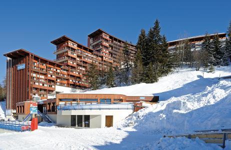 Location au ski Résidence Lagrange le Roc Belle Face - Les Arcs - Extérieur hiver