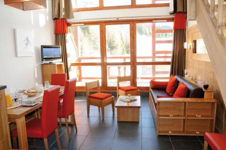 Location au ski Résidence Lagrange le Roc Belle Face - Les Arcs - Séjour
