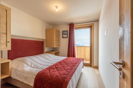Location au ski Appartement 3 pièces 6 personnes (102) - Résidence le Ridge - Les Arcs - Chambre