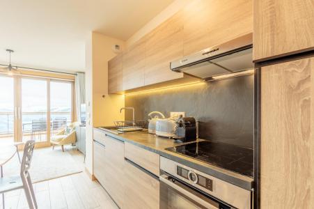 Location au ski Appartement 3 pièces 6 personnes (112) - Résidence le Ridge - Les Arcs - Cuisine