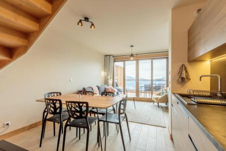 Location au ski Appartement 3 pièces 6 personnes (112) - Résidence le Ridge - Les Arcs - Salle à manger