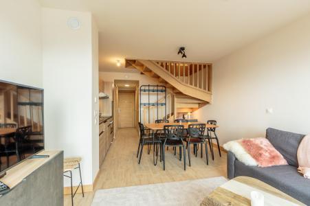 Location au ski Appartement 3 pièces 6 personnes (112) - Résidence le Ridge - Les Arcs - Table