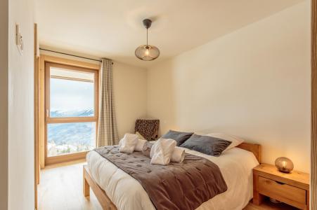 Location au ski Appartement 3 pièces 6 personnes (113) - Résidence le Ridge - Les Arcs - Chambre