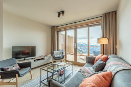 Location au ski Appartement 3 pièces 6 personnes (113) - Résidence le Ridge - Les Arcs - Coin séjour