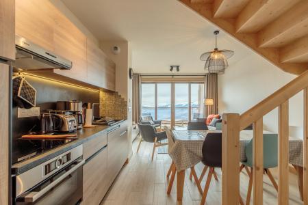 Location au ski Appartement 3 pièces 6 personnes (113) - Résidence le Ridge - Les Arcs - Cuisine