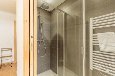 Location au ski Appartement 3 pièces 6 personnes (113) - Résidence le Ridge - Les Arcs - Douche