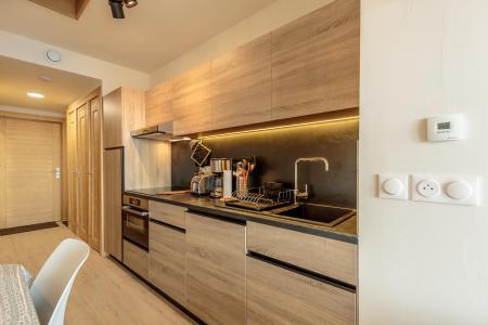 Location au ski Appartement 3 pièces 6 personnes (113) - Résidence le Ridge - Les Arcs - Kitchenette