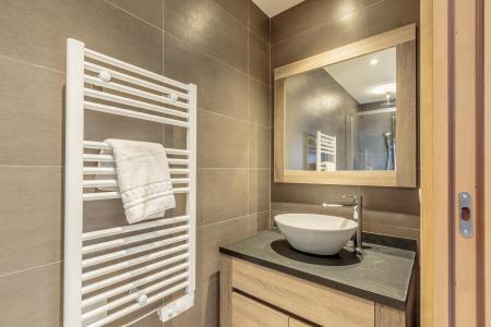 Location au ski Appartement 3 pièces 6 personnes (113) - Résidence le Ridge - Les Arcs - Sèche-serviettes
