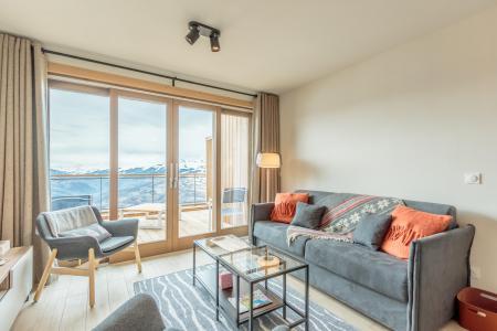 Location au ski Appartement 3 pièces 6 personnes (113) - Résidence le Ridge - Les Arcs - Séjour