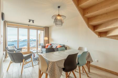 Location au ski Appartement 3 pièces 6 personnes (113) - Résidence le Ridge - Les Arcs - Table